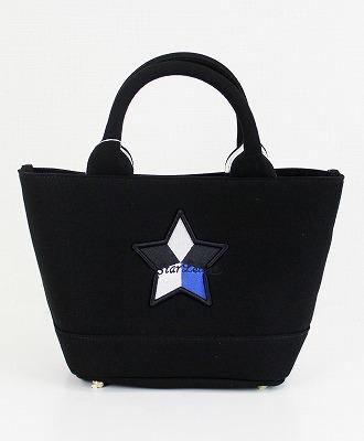 StarLean(スターリアン) ミニキャンバストートバッグ [SLTB101] BLACK