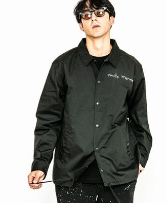 ACANTHUS×muta / アカンサス×ムータ / コーチジャケット / ブラック / muta graffiti coach JKT MA2003 / BLACK