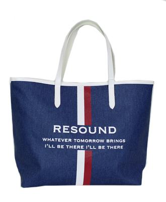 RESOUND CLOTHING(リサウンドクロージング) RESOUND DENIM TOTE M INDWH [RCQ-BAG-001 M]
