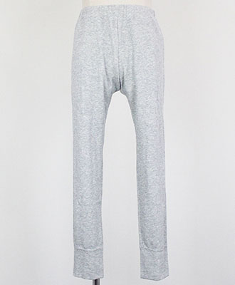 LOOK SEA / ルクシー / コットン&シルク イージーパンツ / グレー / Cotton&Silk Easy Pants / Grey【LSB171010PTCT90】