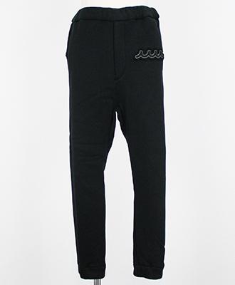 ACANTHUS×muta / アカンサス×ムータ / ジャージーイージーパンツ / ブラック / ACANTHUS×muta jersey easy pants MA1814
