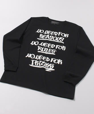 LIBERTY CITY / リバティーシティ / [NO NEED FOR] LONG SLEEVE TEE / BLACK [193024LC]