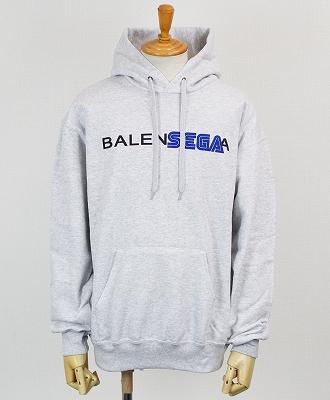 BLACK SCORE / ブラックスコア / プリントプルオーバーパーカー / BALENSEGA / 10392077 / BSHP_BALENSEGA / グレー(10)