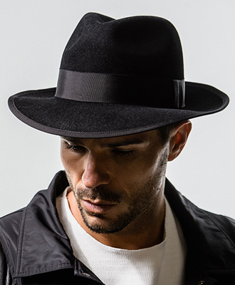 RESOUND CLOTHING / リサウンドクロージング / Stevie Rabbit Hat / BLACK [RC-BASIC-CAP19]
