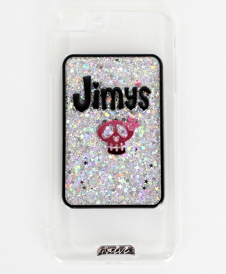 Jimy's Charmer(ジミーズチャーマー) iPhoneケース iPhone 7 / 7Plus / 8 / 8Plus / X / XS / XS Max / XR 対応 【Shine for me Silver】