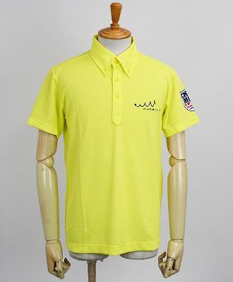 muta MARINE GOLF / ムータマリンゴルフ / PIN FLAG ポロシャツ / イエロー