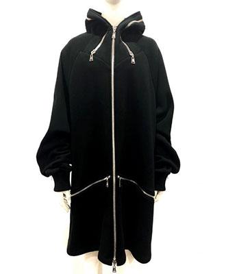 ACUOD by CHANU / アクオドバイチャヌ / ユニセックス / Hood Zip Up / BLACK [AC-RGL-HDZU]