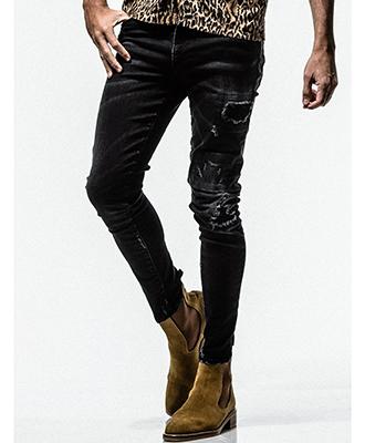 RESOUND CLOTHING / リサウンドクロージング / Blind DENIM / BLACKB [RC16-ST-007]