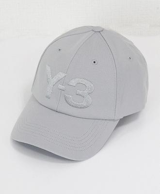 Y-3(ワイスリー) Yohji Yamamoto(ヨウジヤマモト)ロゴキャップ 【送料無料】 Y-3(ワイスリー) ロゴキャップ LOGO CAP [FI6750-ACCA19] GREY