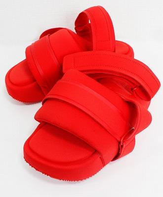 【タイムセール 30%】Y-3(ワイスリー) サンダル Y-3 SANDAL 【EH1741-FTWS20】 RED/RED/RED