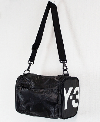 【タイムセール 30%】Y-3(ワイスリー) ミニバッグ Y-3 MINI GYMBAG [FQ6973-ACCS20] BLACK 852A/CORE WHITE 076A