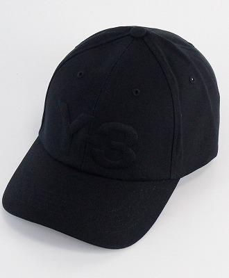 Y-3(ワイスリー) ロゴキャップ LOGO CAP [FQ6974-ACCS20] BLACK 852A