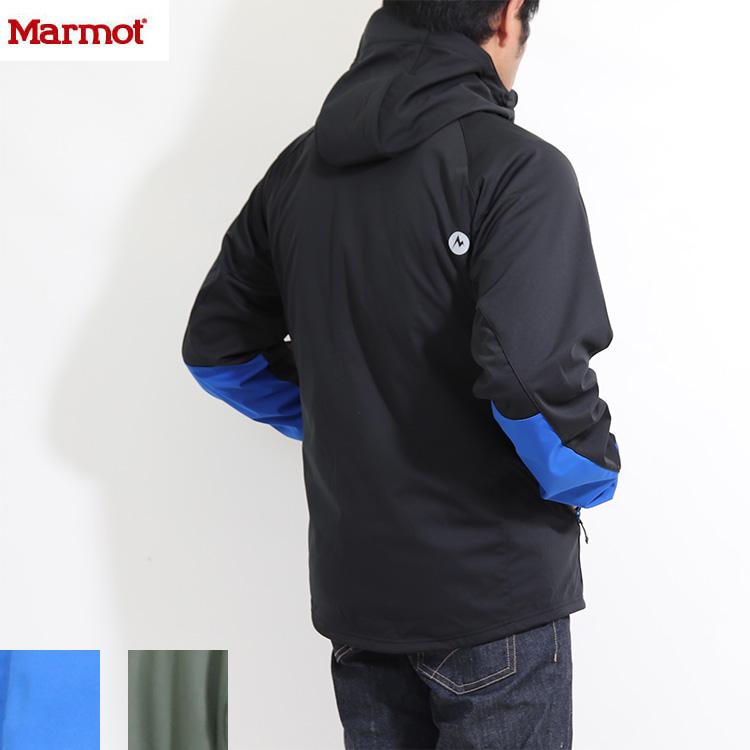 送料無料)Marmot(マーモット)トレックシェルターパーカー TOMOJK12 あったか JKT Trek Shelter Parka アウトドアウェア 撥水 ストレッチトップス パーカー