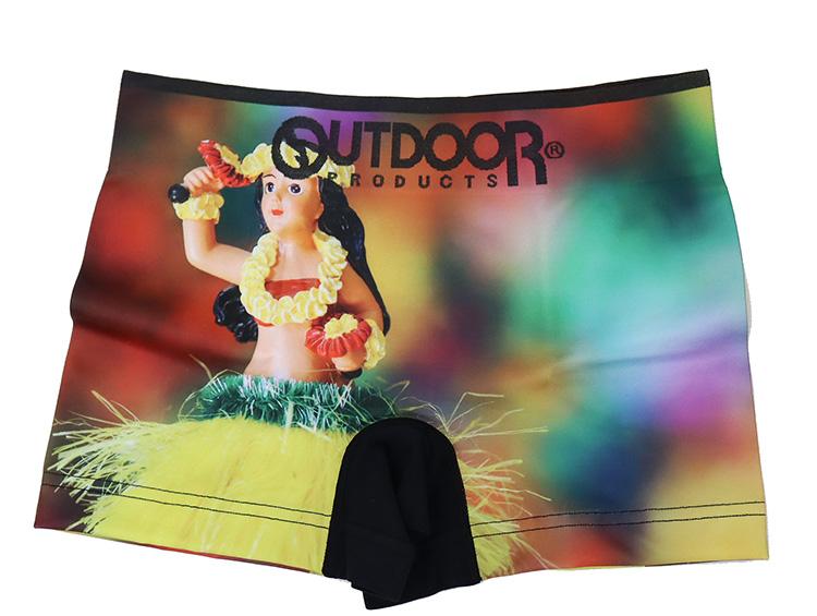 OUTDOOR ボクサーパンツ outdoor 激安卸販売新品 世界の国 フラガール まえとじ 成型 ストレッチ アウトドアボクサーパンツ 新着
