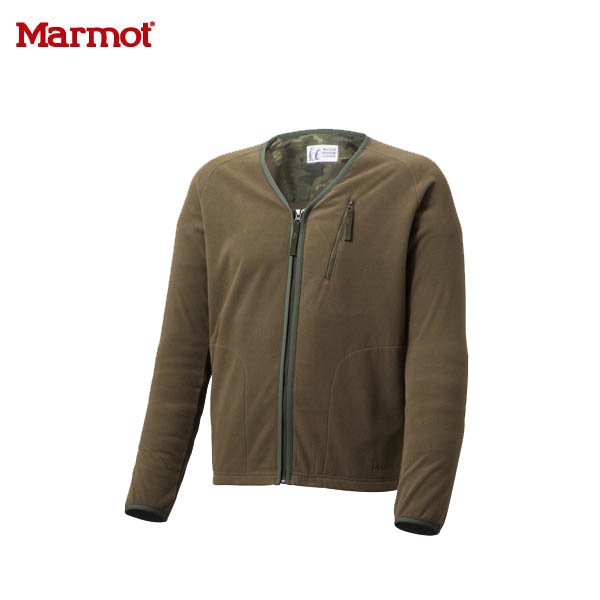 送料無料) Marmot(マーモット)Velour Fleece Cardigan(ベロアフリースカーディガン)MJF-F5102