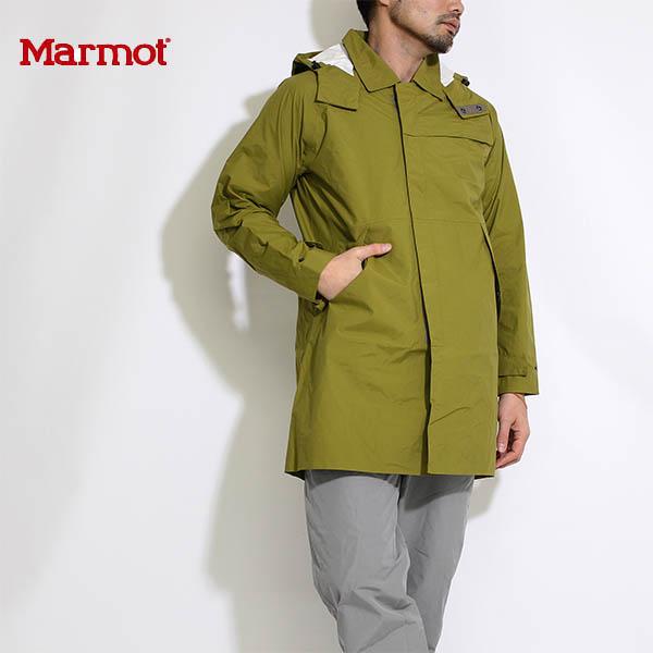 送料無料)Marmot(マーモット)nano pro™ Tech Soutien Coat(ナノプロテックステンコート) 防風撥水防水 マウンテンパーカー(MJJ-S6070)ライトオリーブ