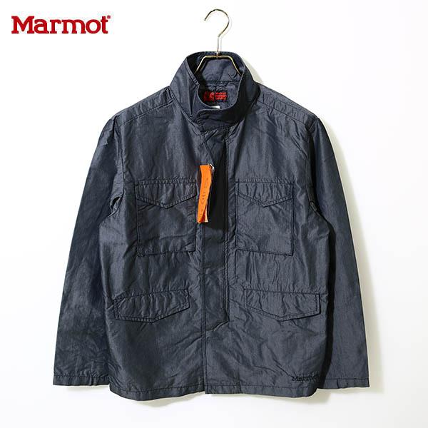 春夏 送料無料)Marmot(マーモット)カトーエム65ジャケットMJJ-S7050(Marmot×KATO`)KATO` M-65 Jacketブラック