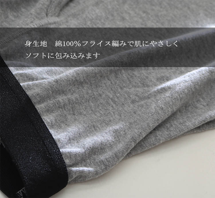 日本製 ケツ汗パッド付きボクサーパンツ/前開き/特許実用新案登録/お尻の汗でお悩みの方へ/33028/ケツ汗ジミ防止パッド付き 一体型パンツ/お尻の汗じみ対策/インナー