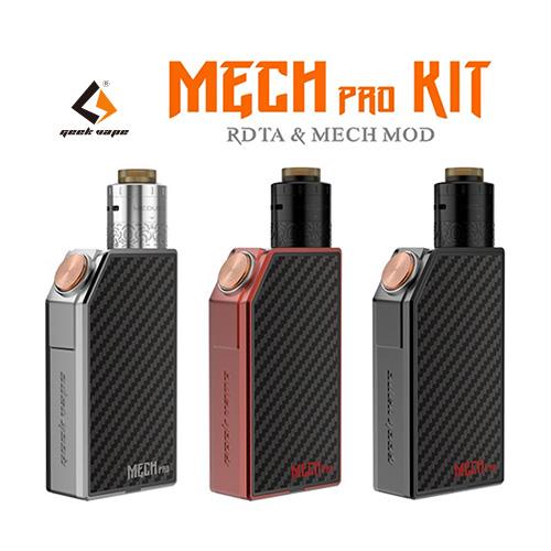 Geek vape Mech Pro Kit with Medusa RDTA(メカプロキット メデューサ)【ギークベイプ】【メカニカルMOD】