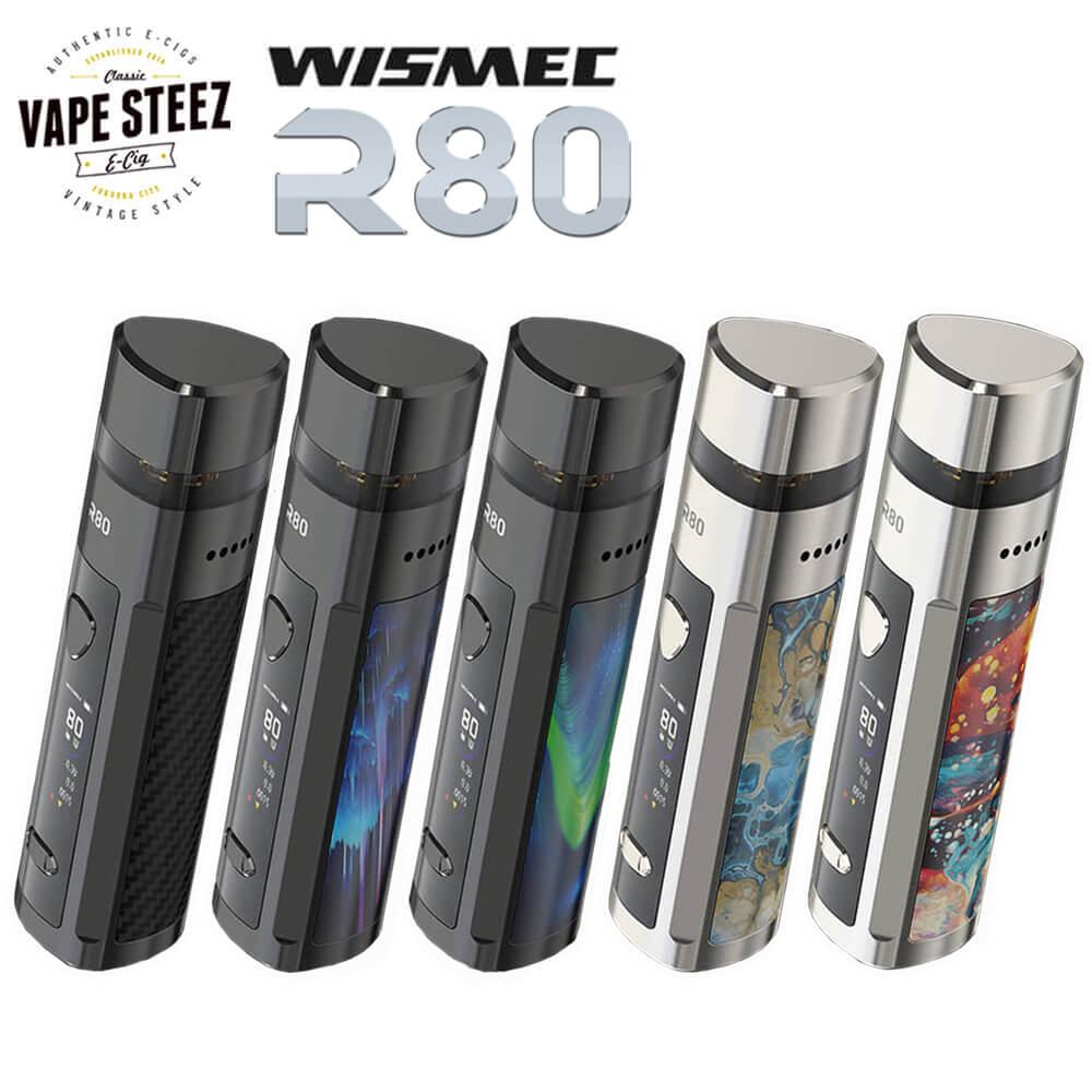 PODMODで利用可能な二刀流デバイスです 好評 WISMEC R80 POD VAPE MOD 新品■送料無料■ 電子タバコ 二刀流デバイス