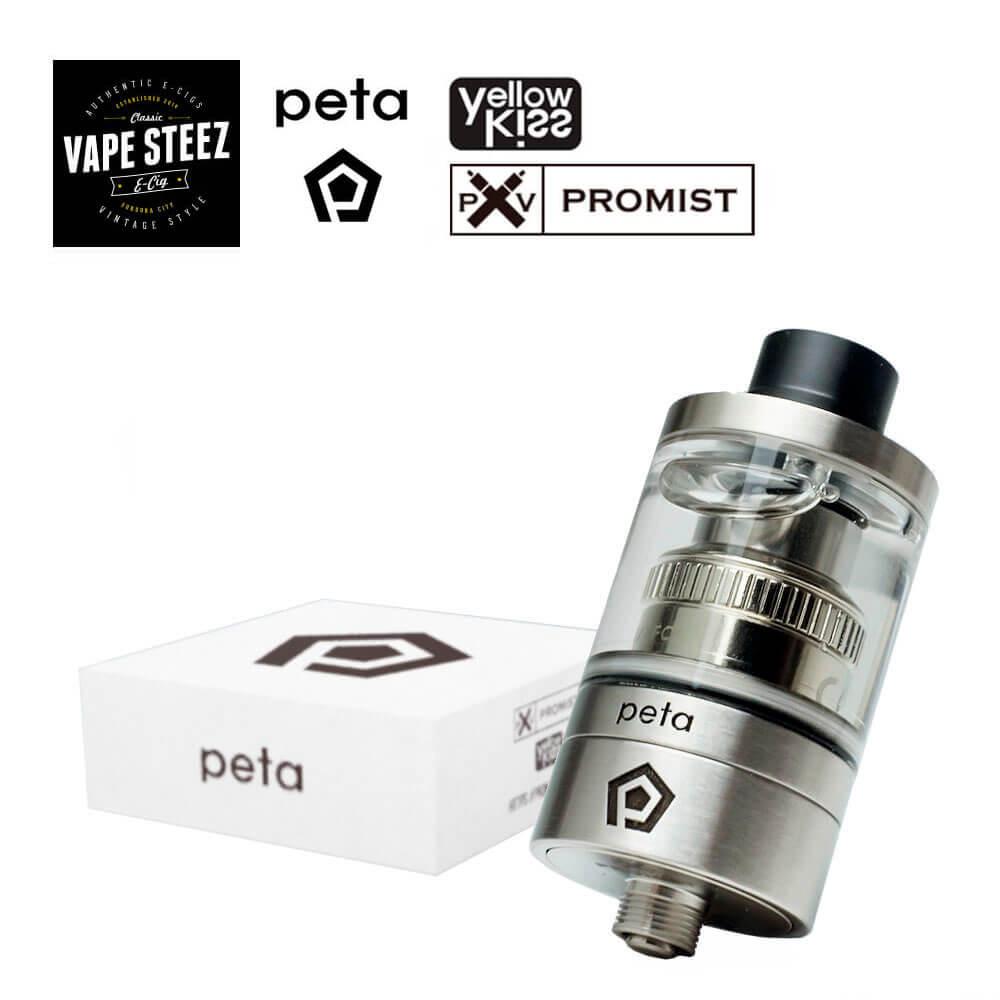 正規品 電子タバコアトマイザー【 TANK 】Promist Vapor Peta Tank【 22mm 】上級者向け
