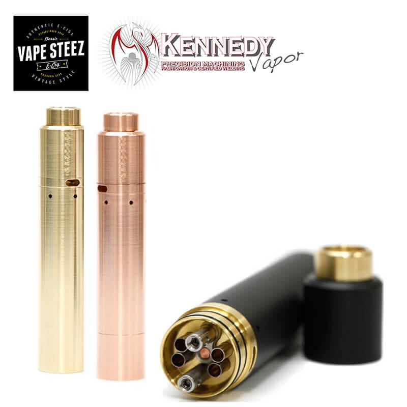 【送料無料 あす楽 】Kennedy Vapor 2Post Kennedy 24 + Roundhouse V2 Kit ケネディ ベイパー 電子タバコ アトマイザー 爆煙 正規 authentic VAPE Made in USA
