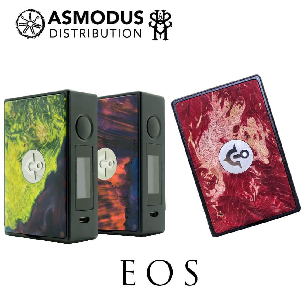 電子タバコ VAPE 正規 asMODus × ULTRONER EOS ( イオス ) イー・オー・エス BOX MOD スタビウッド アズモダス StabWood