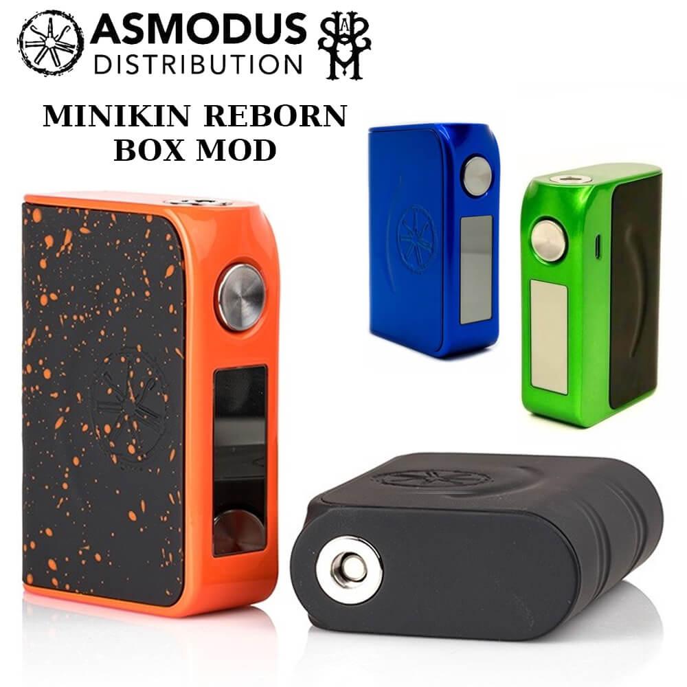 asMODus MINIKIN REBORN BOX MOD 電子タバコ MOD アズモダス 最大出力168W MADE in USA