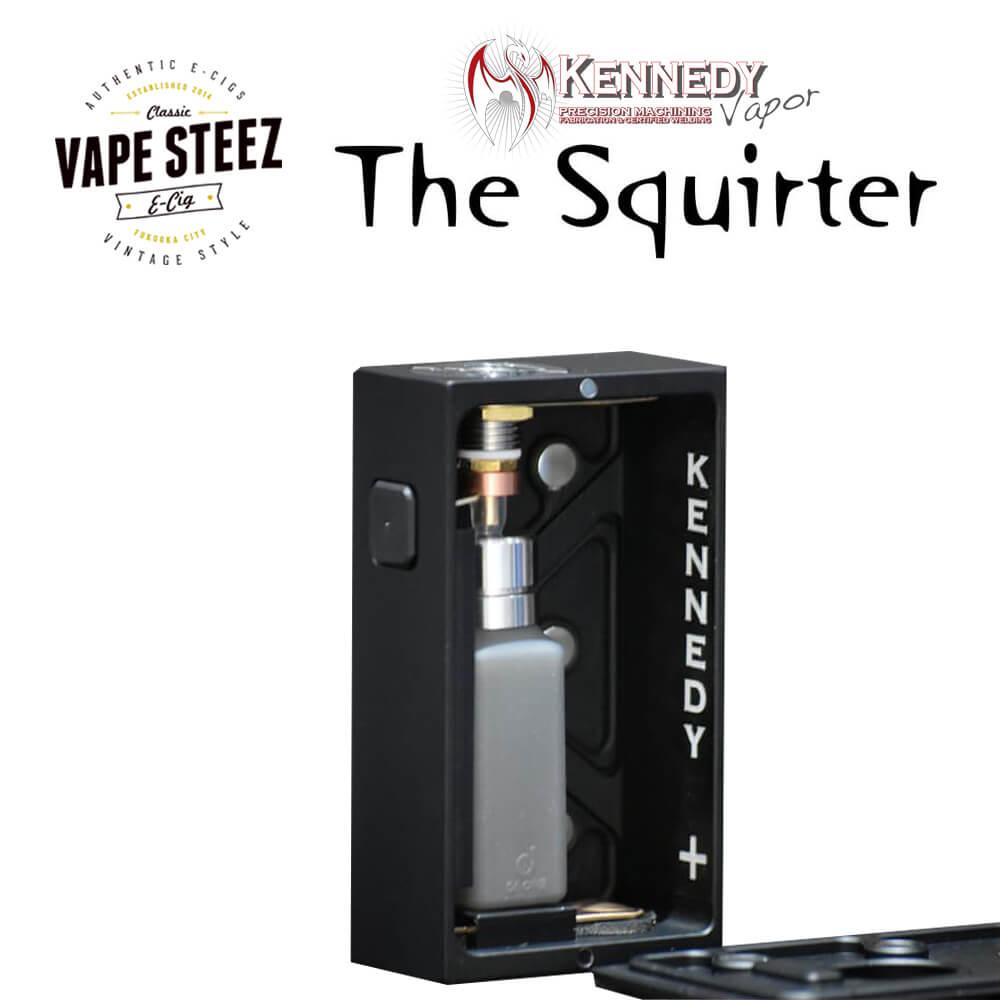 電子タバコ メカニカルMOD Kennedy Vapor The Squirter BF MOD 21700 / 20700 8.5ml スコンカーボトル