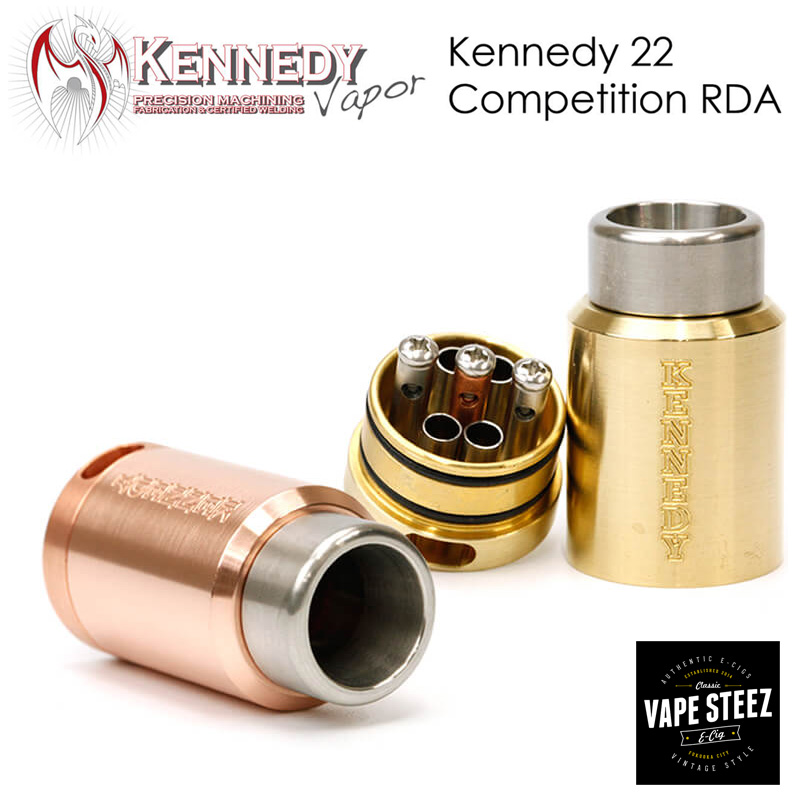 Kennedy Vapor The Kennedy 22 Competition Atomizer RDA 電子タバコ VAPE アトマイザー