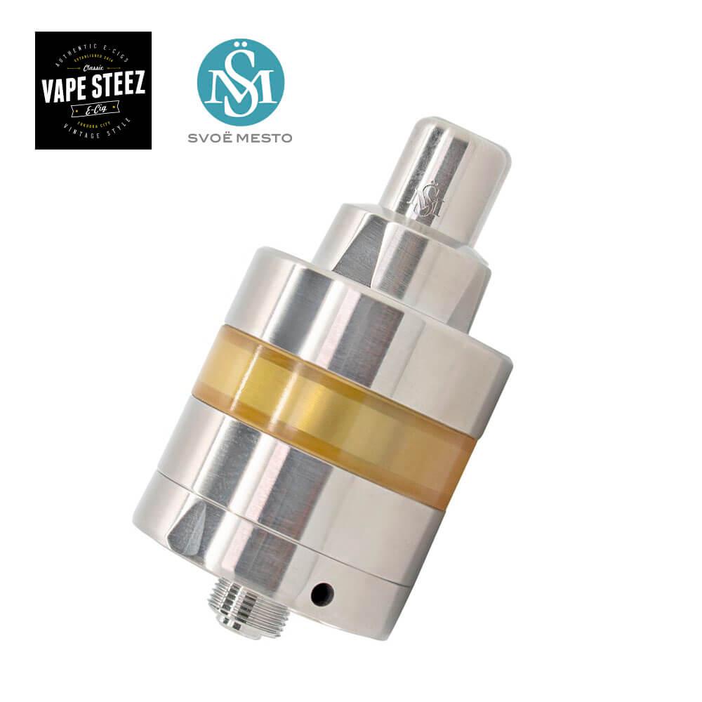 【 送料無料 あす楽 】SvoeMesto Kayfun Lite RTA 24mm スヴォエメスト ケイファン ライト MTL シングルコイル ボトムフィル サイドエアフロー 電子タバコ アトマイザー VAPE