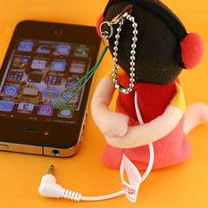 スピぐるみ携帯ストラップ 低燃費少女ハイジ ぬいぐるみから音楽が流れる♪【YDKG-kd】【smtb-KD】[スマホ][iPhone・ipad][消耗品][定形外郵便、、代引不可]