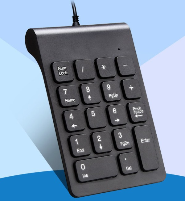USBテンキー MLD-268 ホワイト 有線 接続 軽量 薄型 静音【YDKG-kd】【smtb-KD】[その他PC][定形外郵便、、代引不可]