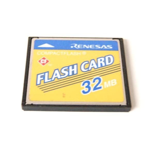 [中古品]CFカード RENESAS 32MB 1枚 型番不問 コンパクトフラッシュ ルネサス【YDKGーkd】【smtb-KD】[メディア][定形外郵便、送料無料、代引不可]