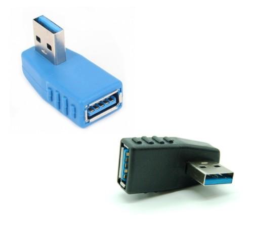 全商品送料無料 一部地域を除く USB3.0 方向変換アダプタ 入荷予定 《右向き》 送料無料 定形外郵便 90度 売れ筋ランキング Aメス-Aオス 代引不可