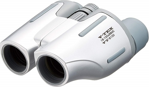 Kenko 双眼鏡 VT-8100Kenko 双眼鏡 V-TEX 18-100×28 ポロプリズム式 18倍-100倍 28口径 シルバー VT-8100[送料無料(一部地域を除く)]