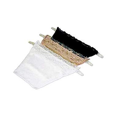 【全商品送料無料】(一部地域を除く) キャミ風 トップカバー 3枚セット Aタイプ 胸元隠し チラ見え防止 インナー ブラカバー チューブトップ[定形外郵便、送料無料、代引不可]