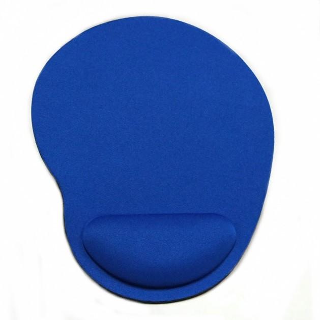 【全商品送料無料】(一部地域を除く) マウスパッド 低反発 リストレスト付き 疲労軽減 腕 手首 手 疲れ (ブルー)[定形外郵便、送料無料、代引不可]
