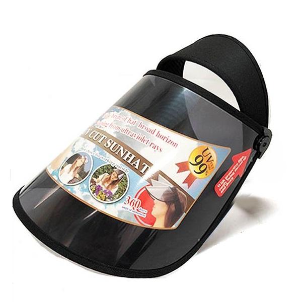 全商品送料無料 SALENEW大人気 一部地域を除く 紫外線からお肌を守る 安全 UVカットサンバイザー 送料無料 代引不可 定形外郵便