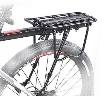 全商品送料無料 一部地域を除く 後付け自転車用荷台 送料無料 高品質新品 最大積載25Kg 高額売筋