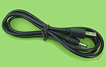 全商品送料無料 一部地域を除く USB電源ケーブル USBオス→DCジャックオス 3.5 通販 1.35mm 定形外郵便 代引不可 送料無料 高品質 ブラック 1m