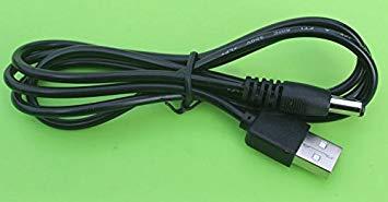 全商品送料無料 一部地域を除く USB電源ケーブル USBオス→DCジャックオス お買得 5.5 2.1mm 代引不可 定形外郵便 ブラック 新色追加して再販 1m 送料無料
