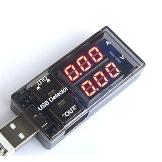 いつでも送料無料 全商品送料無料 一部地域を除く USB電流電圧テスター 爆買いセール チェッカー 電源メーター 代引不可 電圧モニター 送料無料 定形外郵便