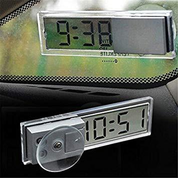 全商品送料無料 実物 一部地域を除く 超薄型 デジタル時計 吸盤式 車載 格安 小型 送料無料 リビング 定形外郵便 シンプル 代引不可 キッチン