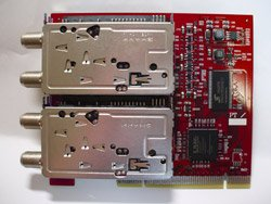 No brand 【バルク品】【メーカー保証なし】 赤いPT2 DECULTURE PT2×2 【合計4基のデジタルチューナー搭載PCIボード】[送料無料(一部地域を除く)]