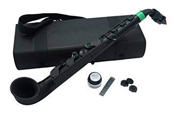 NUVO ヌーボ プラスチック製 サックス jSax ブラック/グリーン N510JBGN【YDKG-kd】[楽器][送料無料(一部地域を除く)]