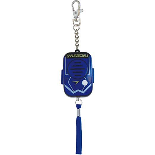 【全商品送料無料】(一部地域を除く) デビカ 防犯ブザー・アラーム ブルー サイズ:約W3.9×D3×H6.7cm(ストラップ・チェーンを除く)[定形外郵便、送料無料、代引不可]