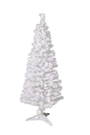 Xmas LEDファイバークリスマスツリー 高さ150cm ホワイト[送料無料(一部地域を除く)]