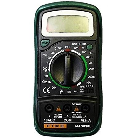 全商品送料無料 価格 一部地域を除く MAS830L 高精度 送料無料 デジタルマルチテスター 公式ストア