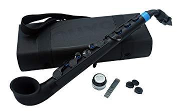 NUVO ヌーボ プラスチック製 サックス jSax ブラック/ブルー N510JBBL[送料無料(一部地域を除く)]【YDKG-kd】【smtb-KD】[楽器]